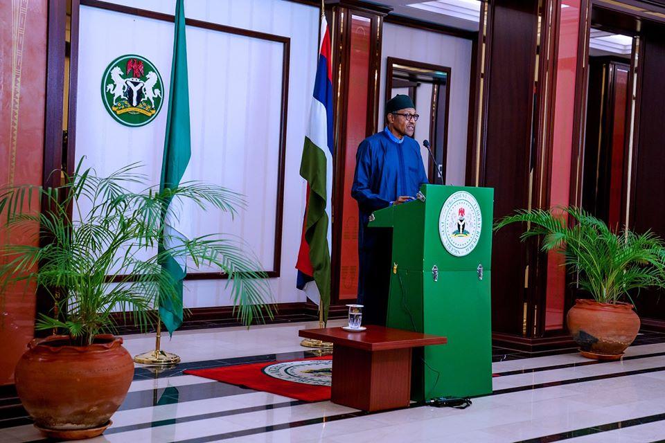 Buhari lockdown extension