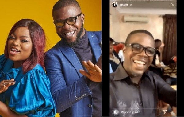 JJC Skillz, husband of popular Nollywood Actress, Funke Akindele has defended himself for hosting house party amid COVID-19 lockdown.
