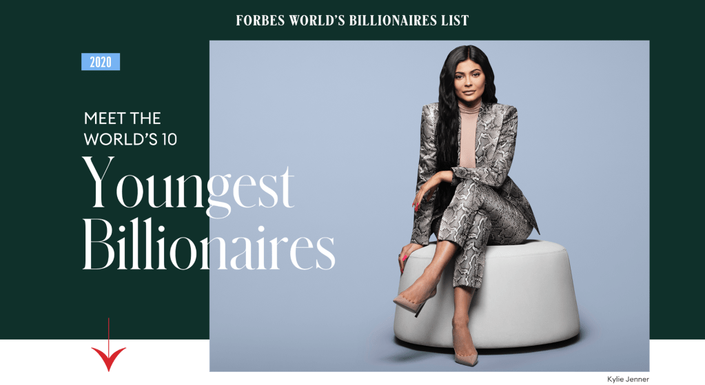 Forbes World's youngest billionaires