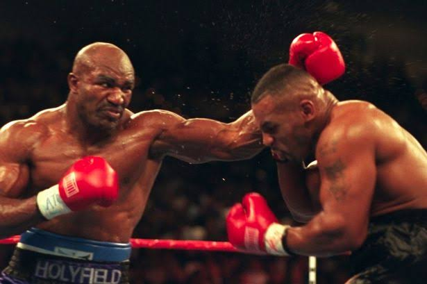Holyfield and Tyson
