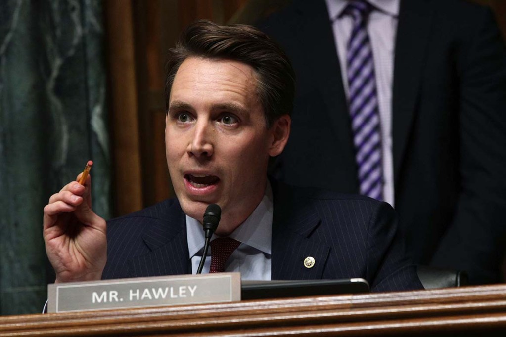 Josh Hawley of Missouri on Twitter