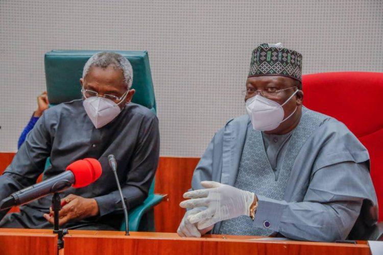 Lawan and Gbajabiamila on budget