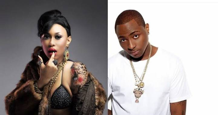 Davido reacts to Rise and Fall of Cynthia Morgan's music career