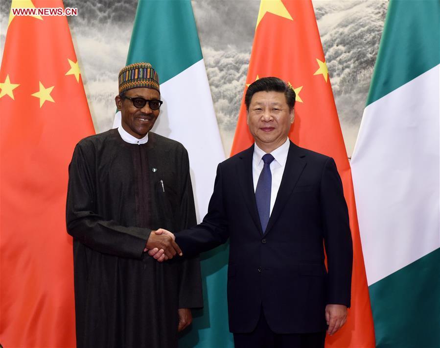 Buhari and China President, Xi Jinping