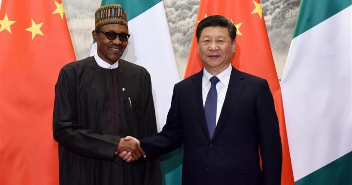 Buhari and China President, Xi Jinping