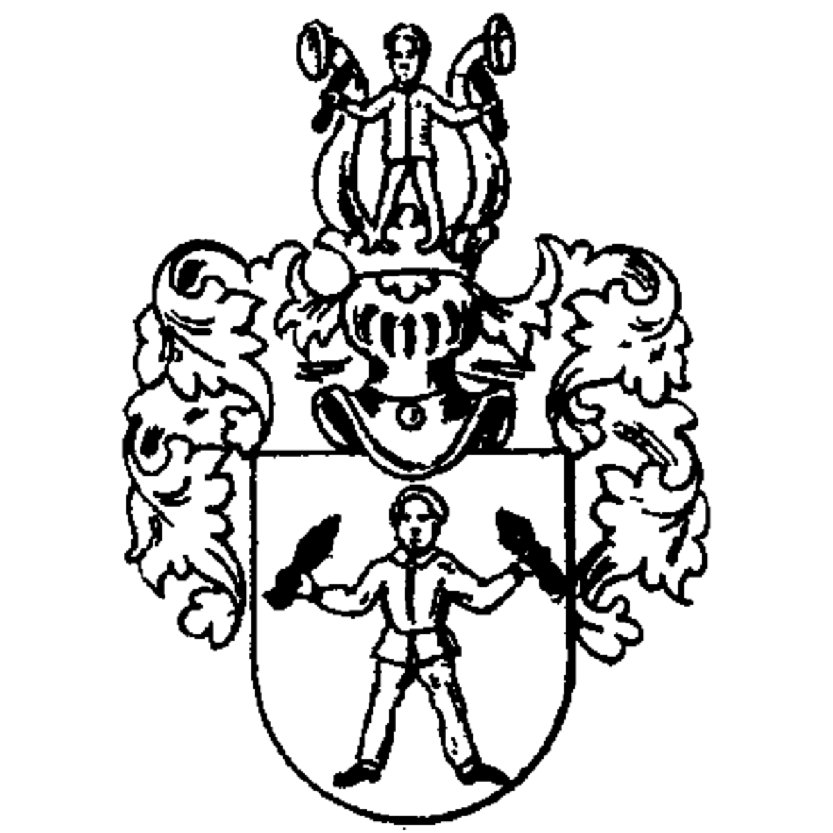 Döbele family, heraldry, genealogy, Coat of arms and last