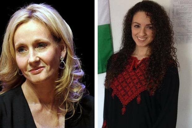 JK Rowling responds to fans using her Harry Potter characters to make points about Israeli cultural boycott