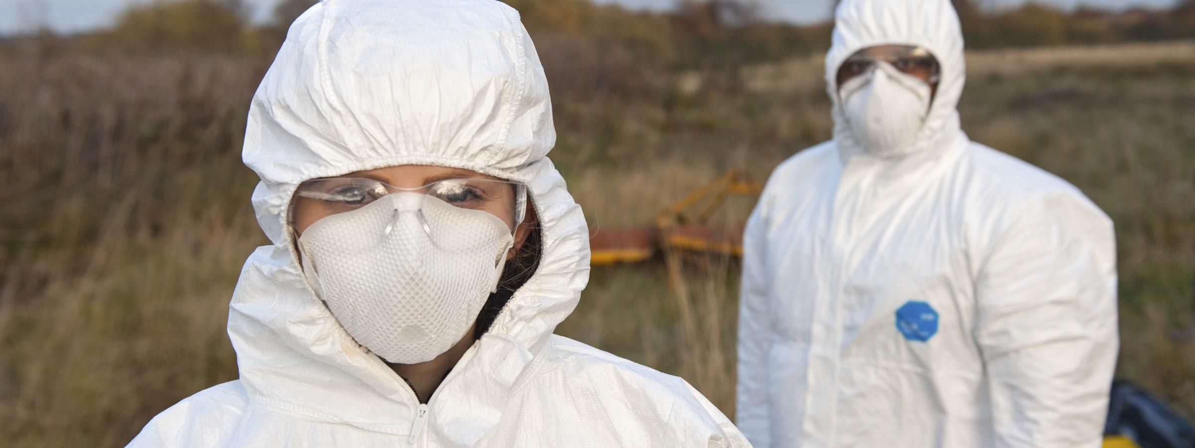 Forensic Science field exercise. Picture courtesy of Strathclyde University