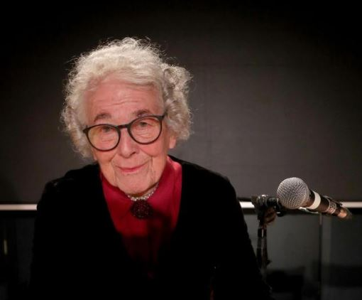 Judith Kerr Author Of The Tiger Who Came To Tea During A Reading To