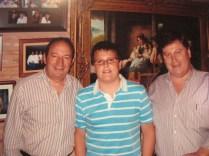 Con el Presidente del Gobierno de La Rioja D. Pedro Sanz