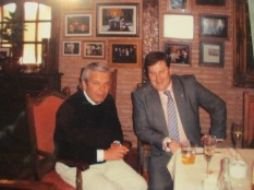 Junto a nuestro amigo D. Andoni Uranga