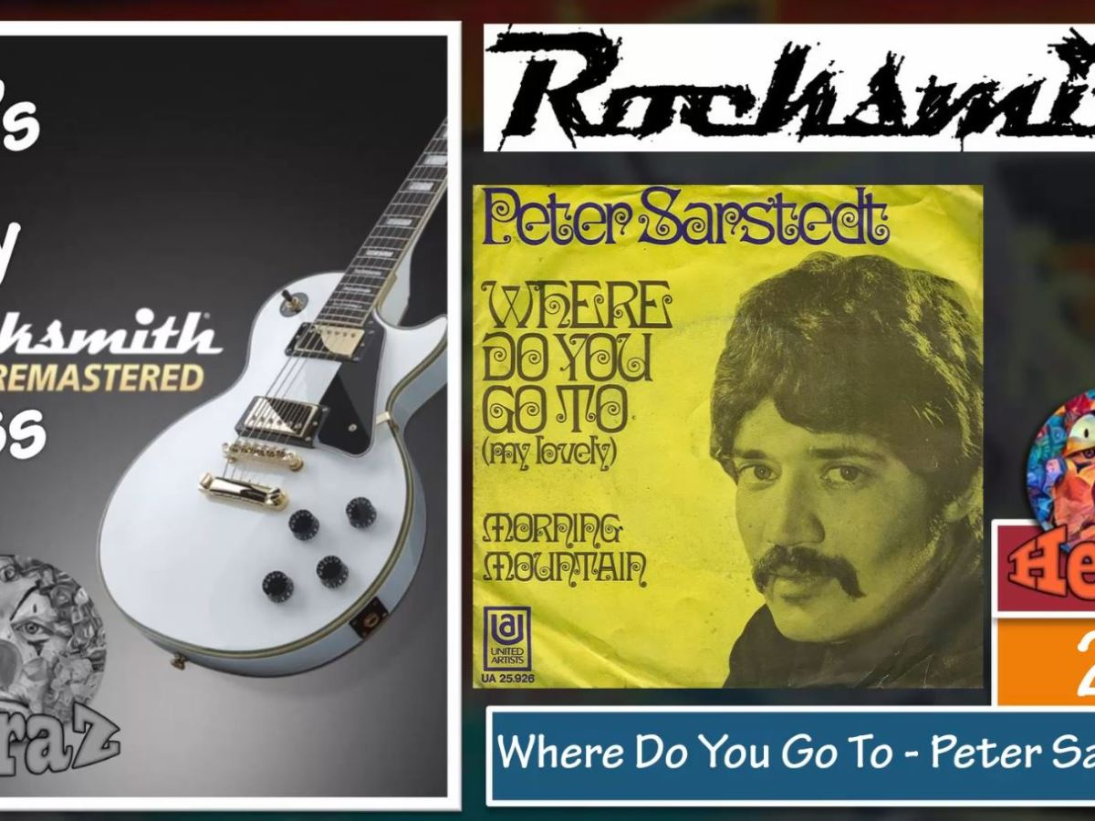 Where Do You Go To – Peter Sarstedt (bass)