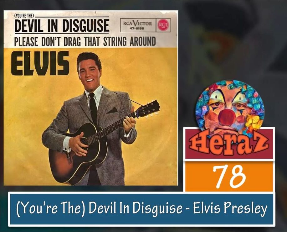 (You're The) Devil In Disguise – Elvis Presley (bass)