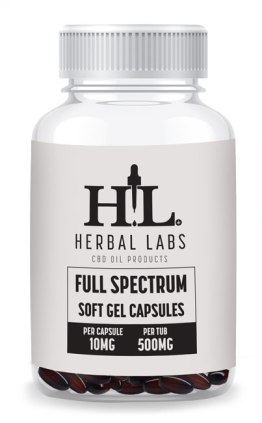 Full Spectrum Soft Gell Capsules