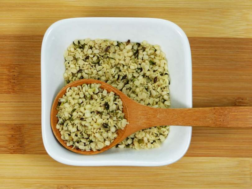 Cooked Hemp Seed