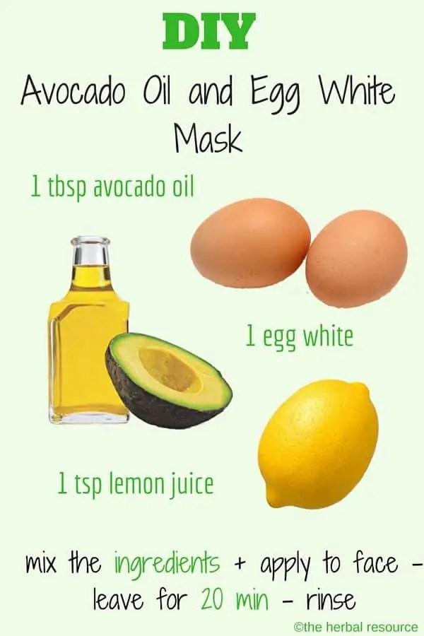 Avocado Oil Mask