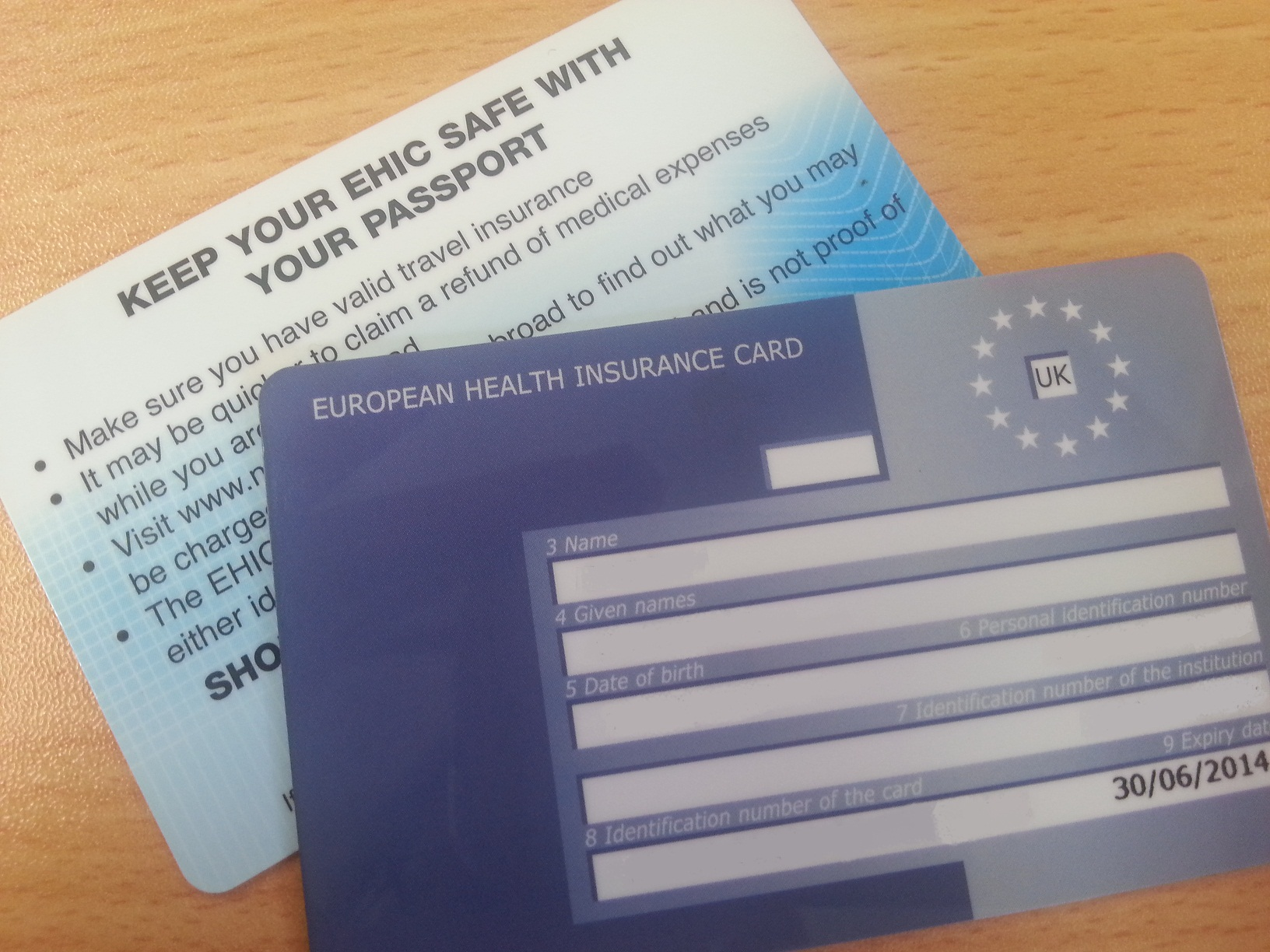 Image Result For European Health Insurance Card