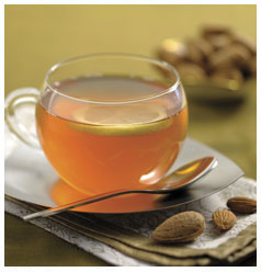 Image result for almond tea