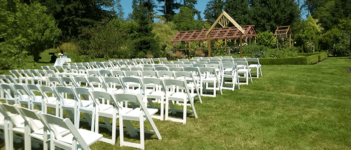 Froggsong Gardens Vashon Wedding Venues Private