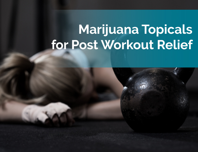 marijuana workout recovery