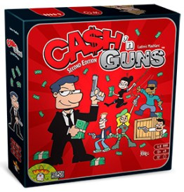 Party Game Cash 'n Guns - guida ai regali di Natale Herberia Arcana