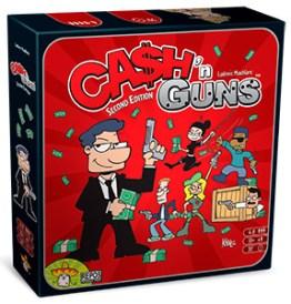 Party Game Cash 'n Guns - guida ai regali di Natale Herberia Arcana