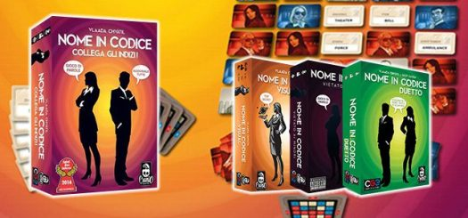 Party Game Nome in codice - guida ai regali di Natale Herberia Arcana