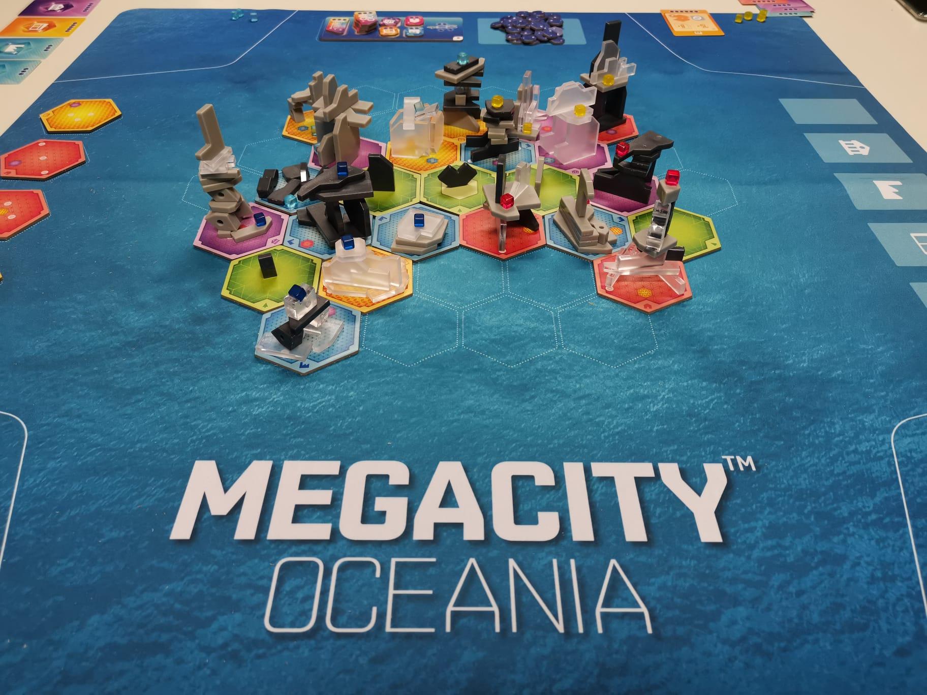 Megacity Oceania: una meraviglia dell'architettura del futuro