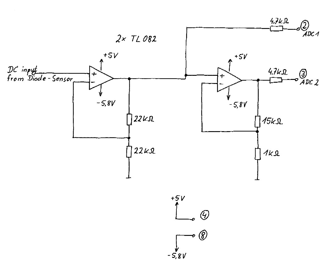 hight resolution of thermal power sensor here you find the schematic of the thermal power sensor that i have build for the dspm03