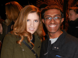 Raj with Anna Kendrick