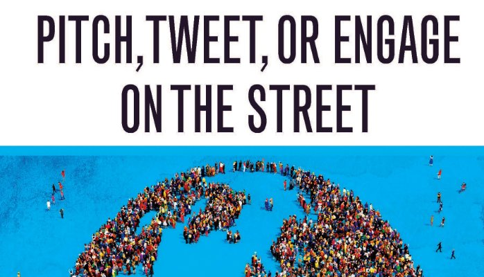 Pitch, Tweet, or Engage on the Street