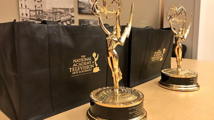 Luz Pena '12 wins four Emmy Awards
