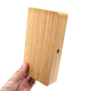 rolling tray bamboo small 3