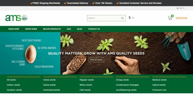 AMS HMx dutch seed banks