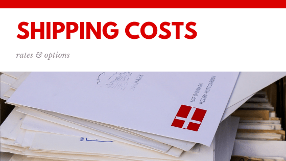 shipping costs rates options