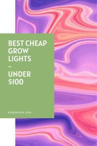 grow lights under 100