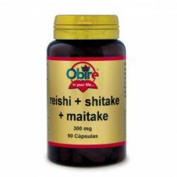 Reishi shitake y maitake