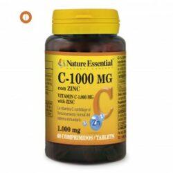 vitamina c + zinc nature essential