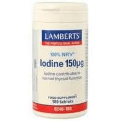 LAMBERT - YODO (YODURO POTASICO) 150 Mcg. 180 Tab