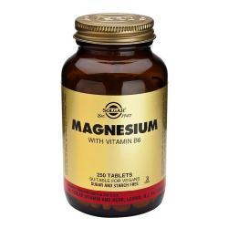 SOLGAR-MAGNESIO+VITAMINA B6 100 Comprimidos