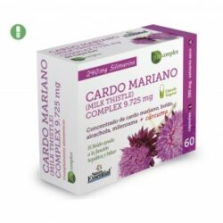 Cardo Mariano Blister 9725 mg. 60 cápsulas