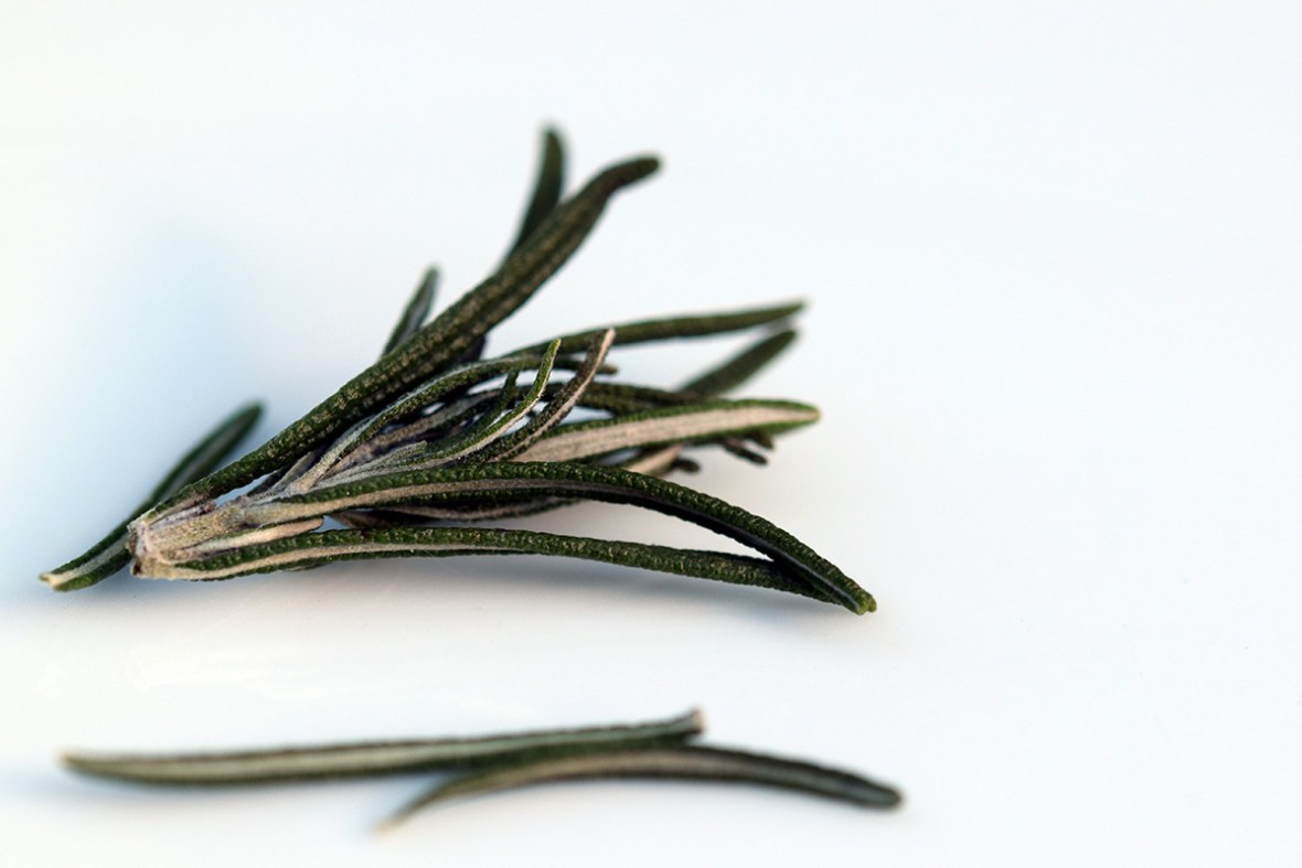 How to dry rosemary bright green