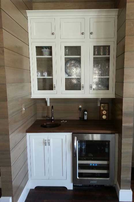 Wet Bar Cabinets With Sink