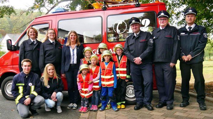Erste Kinderfeuerwehr-Gruppe der Gemeinde Wilnsdorf gegründet