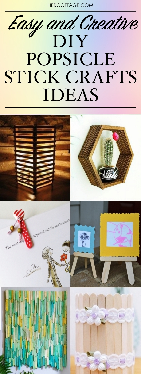 45 Easy And Creative Diy Popsicle Stick Crafts Ideas Hercottage