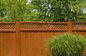 fence planters privacy-fence