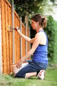 Learn the best way to apply stain on your wood fence.
