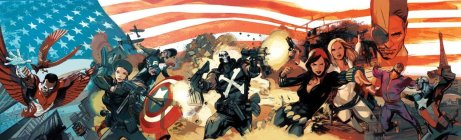 Captain America 70th Anniversary Specials  Art by Greg Tocchini (Credit: Greg Tocchini)