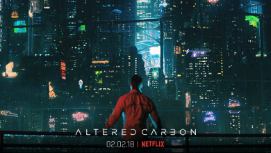 Photo of Netflix releases badass 1st trailer for cyberpunk series Altered Carbon
