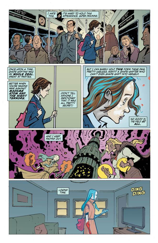 Eternity Girl Issue #1 page